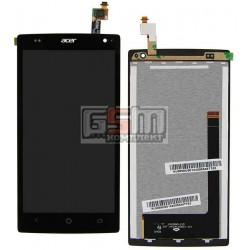 Дисплей для Acer Z150 Liquid Z5 DualSim, черный, с сенсорным экраном (дисплейный модуль)