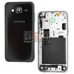 Корпус для Samsung J500H/DS Galaxy J5, черный
