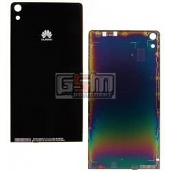 Задняя панель корпуса для Huawei Ascend P6-U06, черная