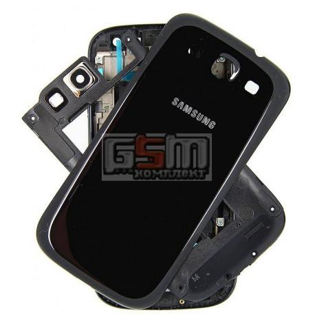 Корпус для Samsung I9300 Galaxy S3, черный
