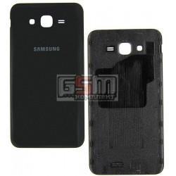 Задняя крышка батареи для Samsung J700H/DS Galaxy J7, черная