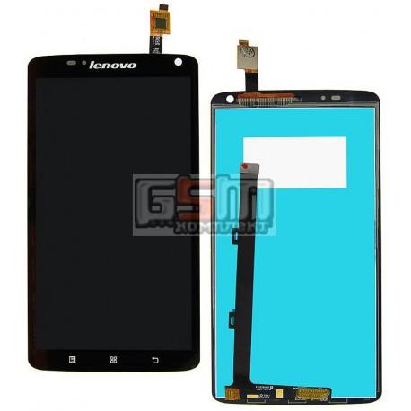 Дисплей для Lenovo S930, черный, с сенсорным экраном (дисплейный модуль), #1580017160/TM060JDHP03/MCF-060-1100-V3