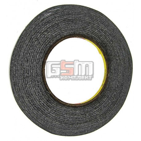 3M™ 9448HKB Двухсторонний скотч, черный 50м х 5мм, толщина 0,15 мм