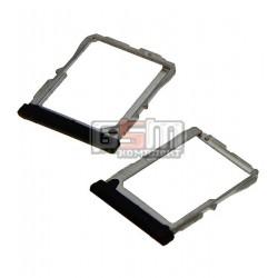 Держатель SIM-карты для LG G2 D800, G2 D802, G2 D803, черный