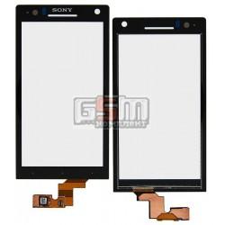 Тачскрин для Sony LT26i Xperia S, LT26ii Xperia SL, черный