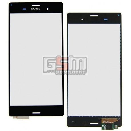 Тачскрин для Sony D6603 Xperia Z3, D6633 Xperia Z3 DS, D6643 Xperia Z3, D6653 Xperia Z3, черный