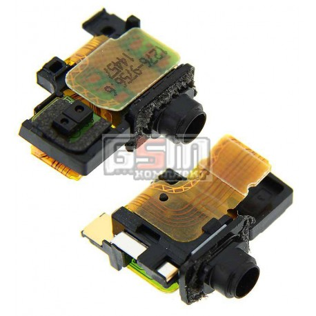 Коннектор handsfree для Sony D6502 Xperia Z2, D6503 Xperia Z2, со шлейфом
