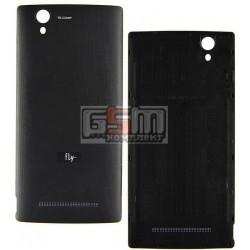 Задняя крышка батареи для Fly FS452, черная, оригинал, #M.03.103.10.003