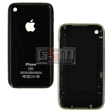 Корпус для Apple iPhone 3GS, черный, 16 ГБ
