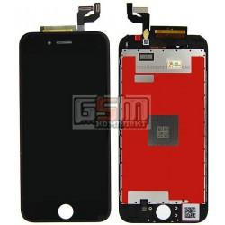 Дисплей для iPhone 6S, черный, original (PRC), с сенсорным экраном (дисплейный модуль), с рамкой
