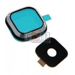 Стекло камеры для Samsung A500F Galaxy A5, A500FU Galaxy A5, A500H Galaxy A5, черное