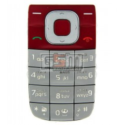 Клавиатура для Nokia 2760, красный, русская