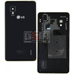 Задняя крышка батареи для LG E975 Optimus G, LS970 Optimus G, черная
