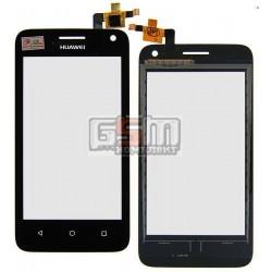 Тачскрин для Huawei Ascend Y3C Y336, черный