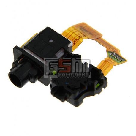 Коннектор handsfree для Sony C6902 L39h Xperia Z1, C6903 Xperia Z1, со шлейфом