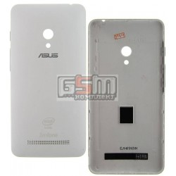 Задняя панель корпуса для Asus ZenFone 5 (A501CG), белая