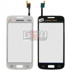 Тачскрин для Samsung G350E Galaxy Star Advance Duos, белый, (Synaptic)