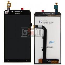 Дисплей для Asus ZenFone Go (ZC500TG), черный, с сенсорным экраном (дисплейный модуль)