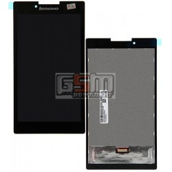 Дисплей для планшета Lenovo Tab 2 A7-30DC, черный, с cенсорным экраном