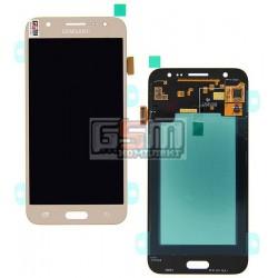 Дисплей для Samsung J500F/DS Galaxy J5, J500H/DS Galaxy J5, J500M/DS Galaxy J5, золотистый, с сенсорным экраном (дисплейный моду