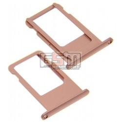 Держатель SIM-карты для Apple iPhone 6S, розовый