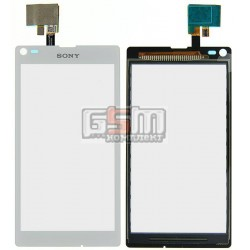 Тачскрін для Sony C2104 S36 Xperia L, C2105 S36h Xperia L, білий