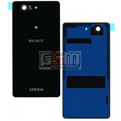 Задняя панель корпуса для Sony D5803 Xperia Z3 Compact Mini, D5833 Xperia Z3 Compact Mini, черная