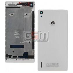 Корпус для Huawei Ascend P7, белый