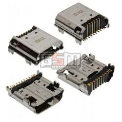 Коннектор зарядки для планшета Samsung P5200 Galaxy Tab3, P5210 Galaxy Tab3, T210, T2100 Galaxy Tab 3, T2110 Galaxy Tab 3, origi