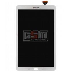Дисплей для планшету Samsung T560 Galaxy Tab E 9.6, T561 Galaxy Tab E, білий, з сенсорним екраном (дисплейний модуль)