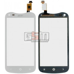 Тачскрин для Acer V370 Liquid E2 Duo, белый