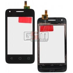 Тачскрин для Alcatel One Touch 4009D Dual Sim, черный