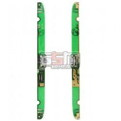 Шлейф для Lenovo A5000, коннектора зарядки, с компонентами, (плата зарядки)