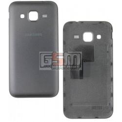 Задняя крышка батареи для Samsung G360F Galaxy Core Prime LTE, G360H Galaxy Core Prime, серебристая