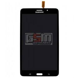 Дисплей для планшетов Samsung T230 Galaxy Tab 4 7.0, T231 Galaxy Tab 4 7.0 3G , T235 Galaxy Tab 4 7.0 LTE, черный, с сенсорным э