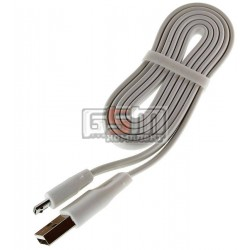 Кабель micro USB плоский