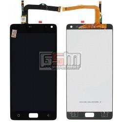 Дисплей для Lenovo Vibe P1, черный, с сенсорным экраном (дисплейный модуль)