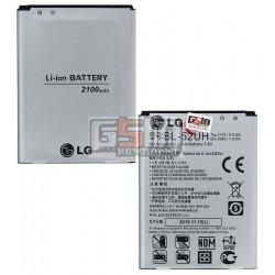 Аккумулятор BL-52UH для LG D280 Optimus L65, D285 Optimus L65 Dual SIM, D320 Optimus L70, D321 Optimus L70, D325 Optimus L70 Dual SIM, H422 Spirit Y70, MS323 Optimus L70, (Li-ion 3.8V 2100mAh)
