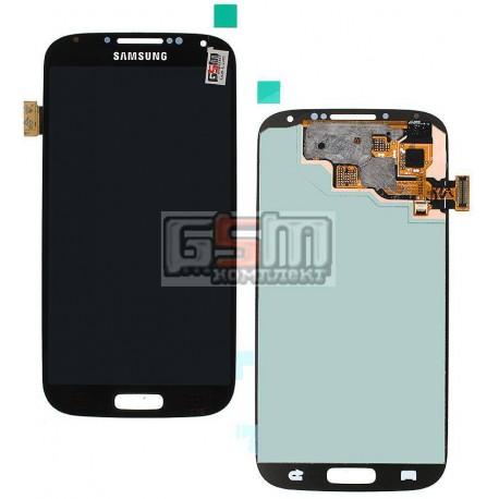 Дисплей для Samsung I337, I545, I9500 Galaxy S4, I9505 Galaxy S4, I9506 Galaxy S4, I9507 Galaxy S4, M919, черный, с сенсорным эк