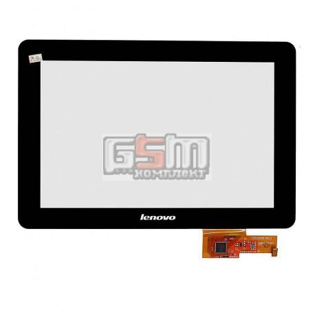 Тачскрин для планшета Lenovo IdeaTab V2010A, LePad S2010A, черный, емкостный, (260*176 мм), #TPC10C45 v0.3