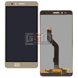 Дисплей для Huawei GR5, Honor 5X, Honor X5, золотистый, с сенсорным экраном (дисплейный модуль)