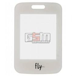 Стекло корпуса для Fly FF177, белое, оригинал, #V18C-F177-1091-200
