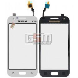 Тачскрин для Samsung J100H/DS Galaxy J1, белый