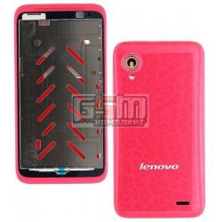 Корпус для Lenovo S720, красный