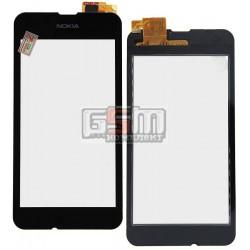 Тачскрин для Nokia 530 Lumia, черный, #Synaptics S2333B 44110572 AHFY891