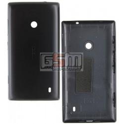 Задняя панель корпуса для Nokia 520 Lumia, черная, с боковыми кнопками
