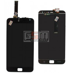 """Дисплей для Meizu MX4 Pro 5.5"""", черный, с сенсорным экраном (дисплейный модуль)"""