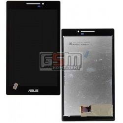 Дисплей для планшета Asus ZenPad 7.0 Z370C, черный, с сенсорным экраном (дисплейный модуль), #TV070WXM-TU1