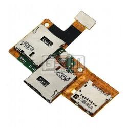 Коннектор SIM-карты для HTC Desire 601 Dual SIM, коннектор карты памяти, со шлейфом, на две SIM-карты