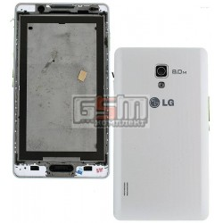 Корпус для LG P710 Optimus L7 II, P713 Optimus L7 II, белый
